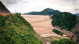 The Nuozhadu Dam, the fourth largest hydropower plant in China.