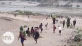 လေတပ်ဗုံးကြဲလို့ ကရင်ရွာသား ၂၀၀၀ ကျော် ထိုင်းဘက်ထွက်ပြေး