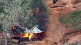 အရပ်သားပစ်မှတ်တွေကို စစ်ကောင်စီ တိုက်လေယာဉ်နဲ့ တိုက်ခိုက်