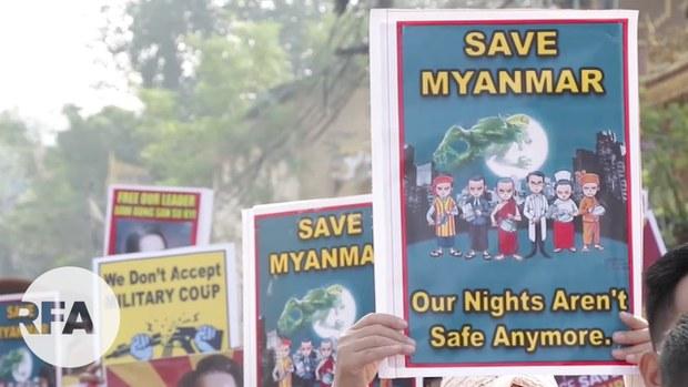 မြစ်ကြီးနား၊ မိုးကုတ်နဲ့ ဖားကန့်မြို့နယ်တွေက စစ်အာဏာရှင်ဆန့်ကျင်ရေး လှုပ်ရှားမှုများ