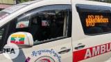 ၂၀၂၁၊ မတ် ၃ ရက်နေ့က မွန်မြတ်စိတ်ထား ဘိုးဘွားစောင့်ရှောက်ရေးအသင်းရဲ့ ကားမှန်ကို ရိုက်ခွဲထားတာကို တွေ့ရစဉ်