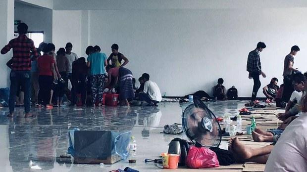 တရုတ်ရောက် မြန်မာအလုပ်သမား ၄၀ ခန့် ထိန်းသိမ်းခံထားရ
