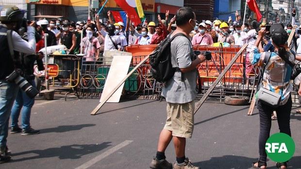 ရန်ကုန်က ဖမ်းဆီးခံသတင်းထောက်တွေ ပြန်မလွတ်သေး