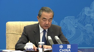 တရုတ်နိုင်ငံခြားရေးဝန်ကြီး Wang Yi။