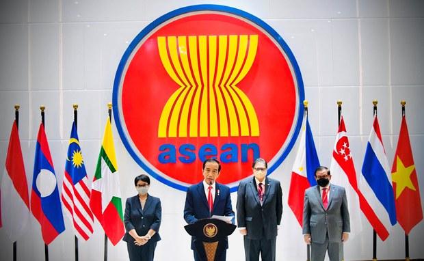 မြန်မာ့အရေး အာဆီယံဘုံသဘောတူညီချက် ထုတ်ပြန်