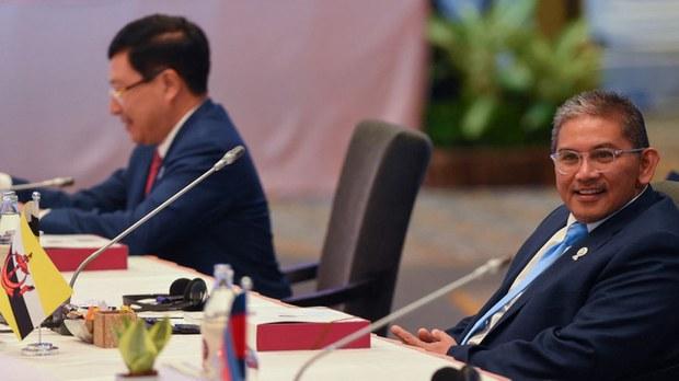 ဘရူနိုင်း ဒုနိုင်ငံခြားရေးဝန်ကြီးကို မြန်မာကိုယ်စားလှယ်အဖြစ် အာဆီယံက လျာထား