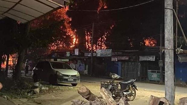 ပဲခူး ရွှေသာလျောင်းဘုရားဝင်းမှာ မီးလောင်မှုဖြစ်