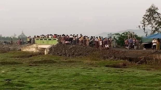 ပုဏ္ဏားကျွန်းမြို့မှာ ဗုံးပေါက်လို့ အရပ်သား လေးဦး သေဆုံး