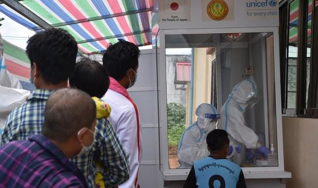 နှစ်ပတ်အတွင်း မြန်မာလူဦးရေထက်ဝက် ကိုဗစ်ရောဂါ ကူးစက်နိုင်ကြောင်း ဗြိတိန်သတိပေး