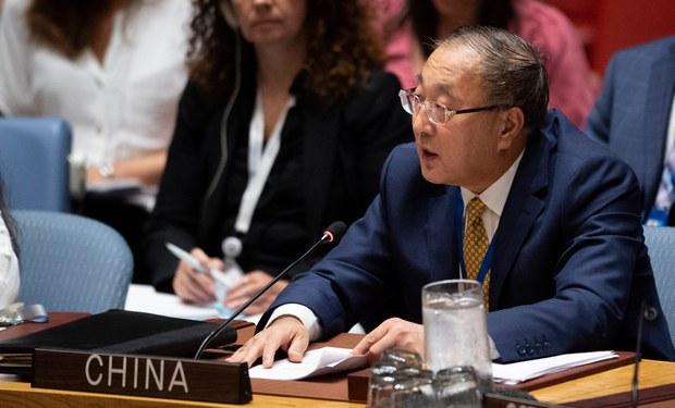 အာဏာသိမ်းစစ်တပ်ကို လုံခြုံရေးကောင်စီက ဒဏ်ခတ်အရေးယူဖို့ တရုတ်ကန့်ကွက်