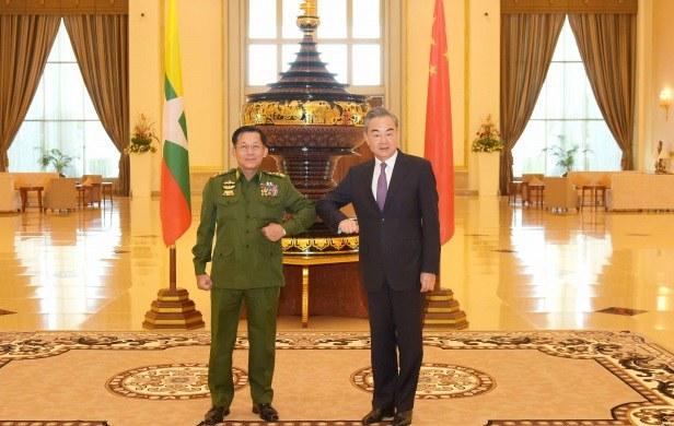 စစ်ခေါင်းဆောင်ကို တရုတ် အသိမှတ်ပြုမှု NUG ရှုတ်ချ