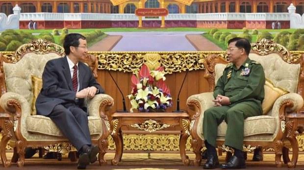 မြန်မာပြဿနာကို စေ့စပ်ဆွေးနွေးမှုနဲ့ အဖြေရှာဖို့မျှော်လင့်ကြောင်း တရုတ်နိုင်ငံခြားရေးဌာနပြော