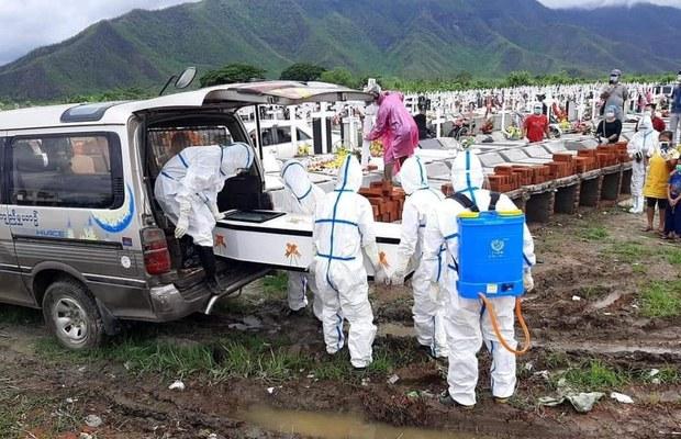 မြန်မာမှာ တရက်ထဲ ပိုးတွေ့အတည်ပြုလူနာ ၆၈ဝ ရှိ