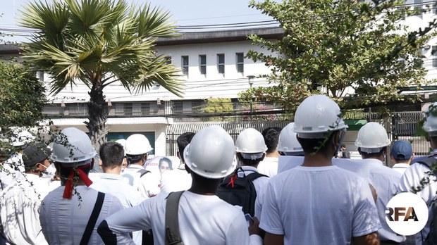 ဂျပန်သံရုံးဝန်ထမ်းတွေရဲ့အိမ်တွေ စစ်ကောင်စီတပ် ဝင်ရောက်ရှာဖွေခဲ့တာကို ဂျပန်အစိုးရကန့်ကွက်