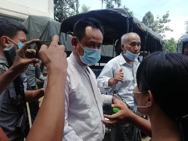 အကြမ်းဖက်မှု တိုက်ဖျက်ရေးဥပဒေနဲ့ အမှုဖွင့်ခံထားရတဲ့ တောင်ကုတ်မြို့ခံ လေးဦးကို စတင်စစ်ဆေး