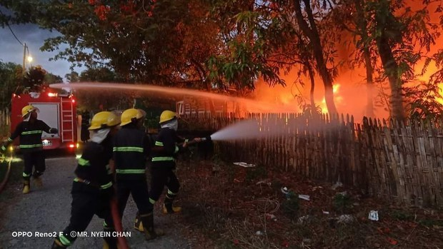 ကလေးမြို့ ခရိုင်တရားရုံး မီးလောင်