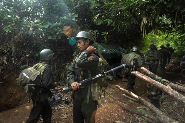 ဖားကန့်မှာ KIA နဲ့ မြန်မာစစ်တပ်တိုက်ပွဲဖြစ်