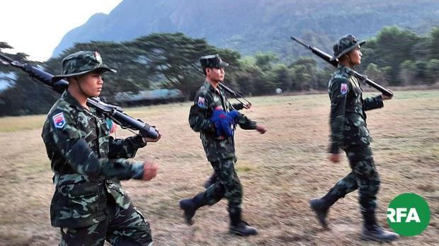 KNU နဲ့ စစ်ကောင်စီတို့ ဖာပွန်မှာ တိုက်ပွဲဖြစ်