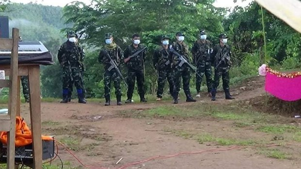 KNU နဲ့ စစ်ကောင်စီကြား လေးရက်အတွင်း တိုက်ပွဲ အကြိမ်ပေါင်း ၃၀ ဖြစ်ခဲ့