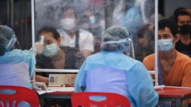 ထိုင်းနိုင်ငံ မဲဆောက်က မြန်မာအလုပ်သမားတွေ ကိုဗစ်ဆေး ထိုးခွင့်ရ