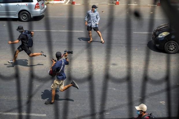 မြန်မာမှာ သတင်းသမားတွေကို ဖိနှိပ်နေတာတွေ ရပ်ဆိုင်းဖို့ AI တောင်းဆို