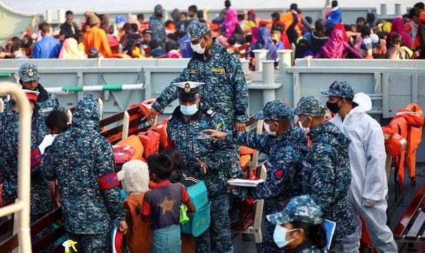 နေရပ်ပြန်ချင်တဲ့ ရိုဟင်ဂျာတွေကို ခြိမ်းခြောက်နေသူတွေကို ဖော်ထုတ်ဖို့ မြန်မာပြော