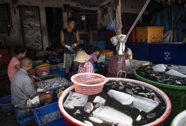 နေရပ်ပြန်မယ့် မြန်မာအလုပ်သမားတွေကို ဖမ်းဆီးလို့ ထိုင်းစက်ရုံကို ဆန္ဒပြ