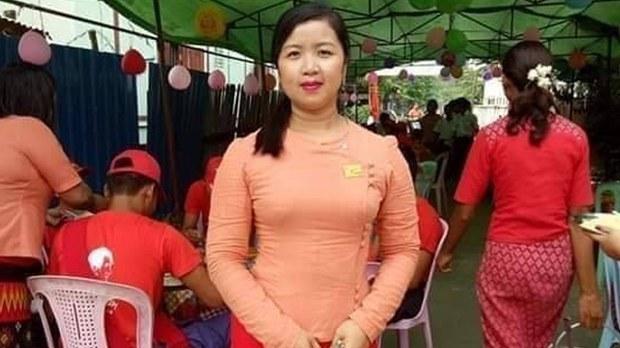 ကလေးမြို့ NLD ပါတီ လူငယ်အမျိုးသမီးအဖွဲ့ဝင် အဖမ်းခံရ