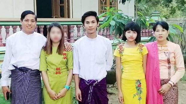 ငါန်းဇွန် NLD တိုင်းလွှတ်တော်အမတ်ရဲ့ မိသားစုဝင်တွေကို စစ်ကောင်စီဖမ်းဆီး