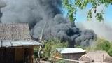 ကင်းမရွာကို မီးတင်ရှို့ခဲ့တဲ့လုပ်ရပ်ကို NUG ရှုတ်ချ