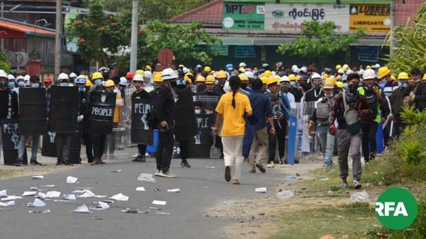 မြစ်ကြီးနားဆန္ဒပြပွဲ ဖမ်းခံရသူတွေရဲ့ ဖုန်းမှတ်တမ်းတွေကို ရဲတပ်ဖွဲ့ ရှာဖွေ