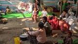 ရခိုင်ပြည်နယ် မြေပုံမြို့နယ်က ဒုက္ခသည်စခန်းနှစ်ခုမှာ စားနပ်ရိက္ခာပြတ်လပ်နေ