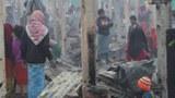ရိုဟင်ဂျာနေအိမ်အလုံး ၅၅၀ ကျော် မီးလောင်ပျက်စီး