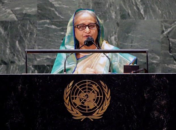 ရိုဟင်ဂျာအရေး မြန်မာဘက်က ဖြေရှင်းမှ ပြေလည်မယ်လို့ ဘင်္ဂလားဒေ့ရှ်ဝန်ကြီးချုပ်ပြော