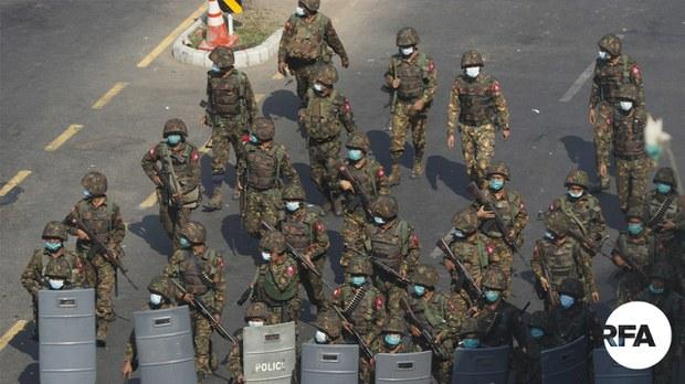 နိုင်ငံတကာက စစ်ကောင်စီကို အမြန်ဆုံး အရေးယူပိတ်ဆို့ဖို့ RSF တိုက်တွန်း