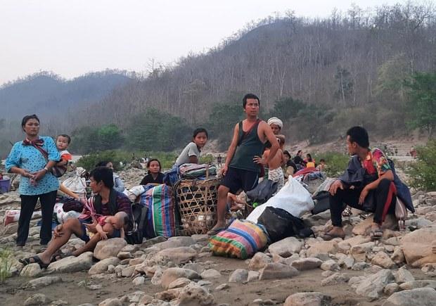 စစ်ကောင်စီရဲ့ အကြမ်းဖက်မှုကို ထိုင်းအစိုးရ လက်မခံ