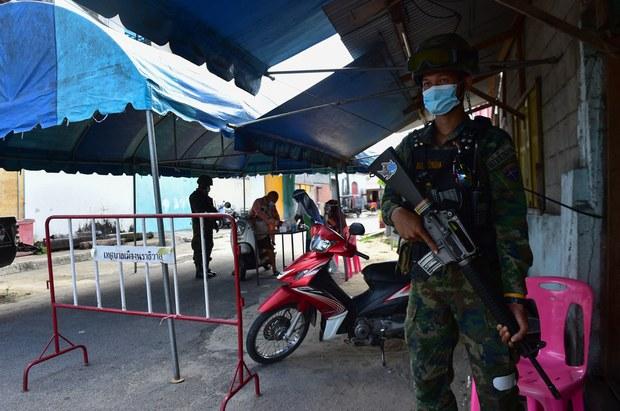 ထိုင်း-မြန်မာ နယ်စပ်ဂိတ်တစ်ခု ထပ်ပိတ်