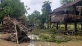 သံတွဲမြို့ ရေပြန်ကျသွားပေမယ့် ဒေသခံတွေ စားဝတ်နေရေး အခက်အခဲဖြစ်နေ