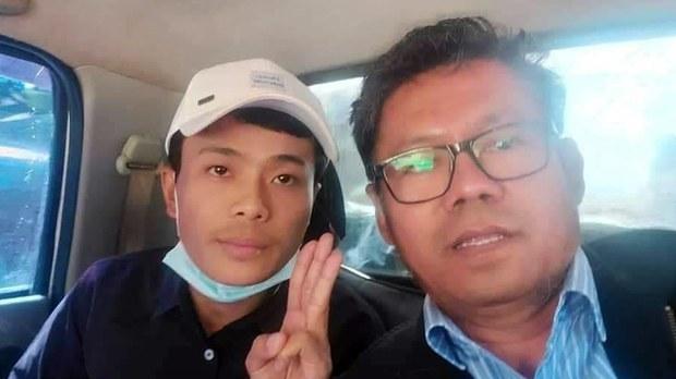 NLD ပြည်နယ်ဝန်ကြီးဟောင်း ဦးမင်းအောင်နဲ့ ပါတီဝင်တစ်ဦးကို ထောင်ဒဏ်ချမှတ်