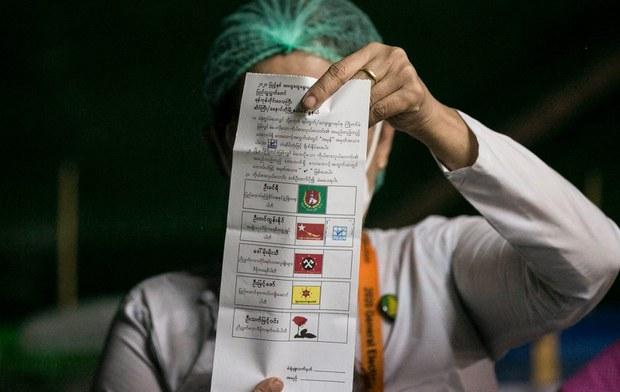 ရွေးကောက်ပွဲစာရွက်စာတမ်းတွေ မိတ္တူကူးခွင့်မပြုကြောင်း UEC ကြေညာ