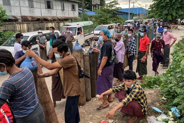 မြန်မာ့ကိုဗစ်ကူးစက်မှု တိုက်ဖျက်ရေး ကုလအကူအညီ လိုအပ်