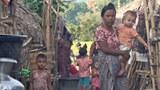 ညောင်ချောင်း စစ်ဘေးဒုက္ခသည်စခန်းကို ၂၀၂၁ နိုဝင်ဘာလ ၂၈ ရက်နေ့က တွေ့ရစဉ်