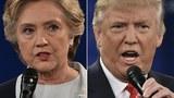 2016美国总统大选候选人希拉里(左)、特朗普(右)。(法新社图)