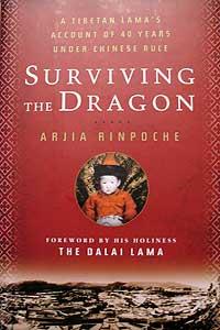 活佛阿嘉仁波切英文自传Surviving The Dragon。