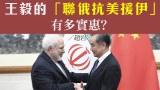 【直擊中國】王毅的「聯俄抗美援伊」有多實惠?