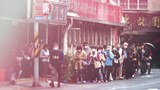 有秩序的排隊買口罩,變成台灣民眾日常生活的一部份。(鍾廣政 攝)