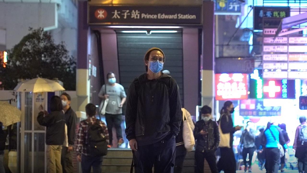 王茂俊去年接受本台專訪時,回到太子站憶述8.31事件恍如恐怖襲擊。(鄧穎韜 攝)