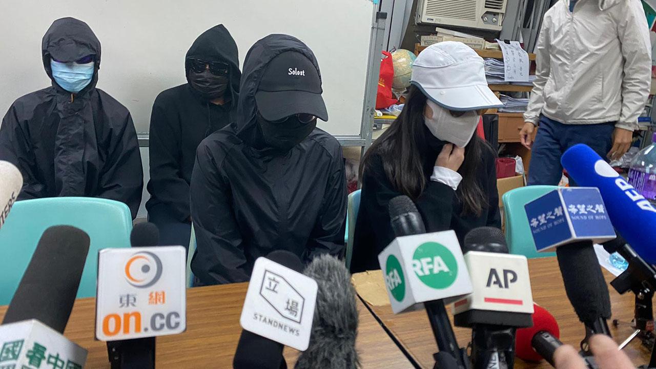 12港人案的当事人家属,一直努力为12港人发声。(资料图片/李智智 摄)