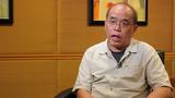 香港民意研究所副行政总裁的锺剑华忧心在港区国安法实施后,对其民研机构的攻击陆续有来。(张展豪 摄)
