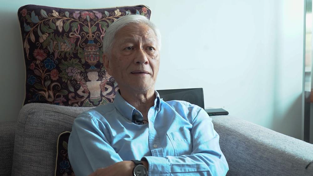 香港作家李怡表示:其实在97回归前,根本没有「港独」这回事。(李智智 摄)